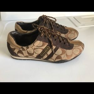 Coach Brown Fashion Sneakers Size 37